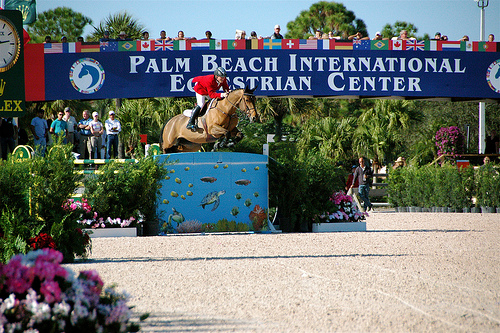 Palm Beach International Equestrian Center In Florida